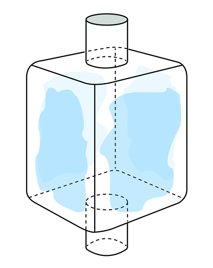 FIBC Liner Attach with glue
