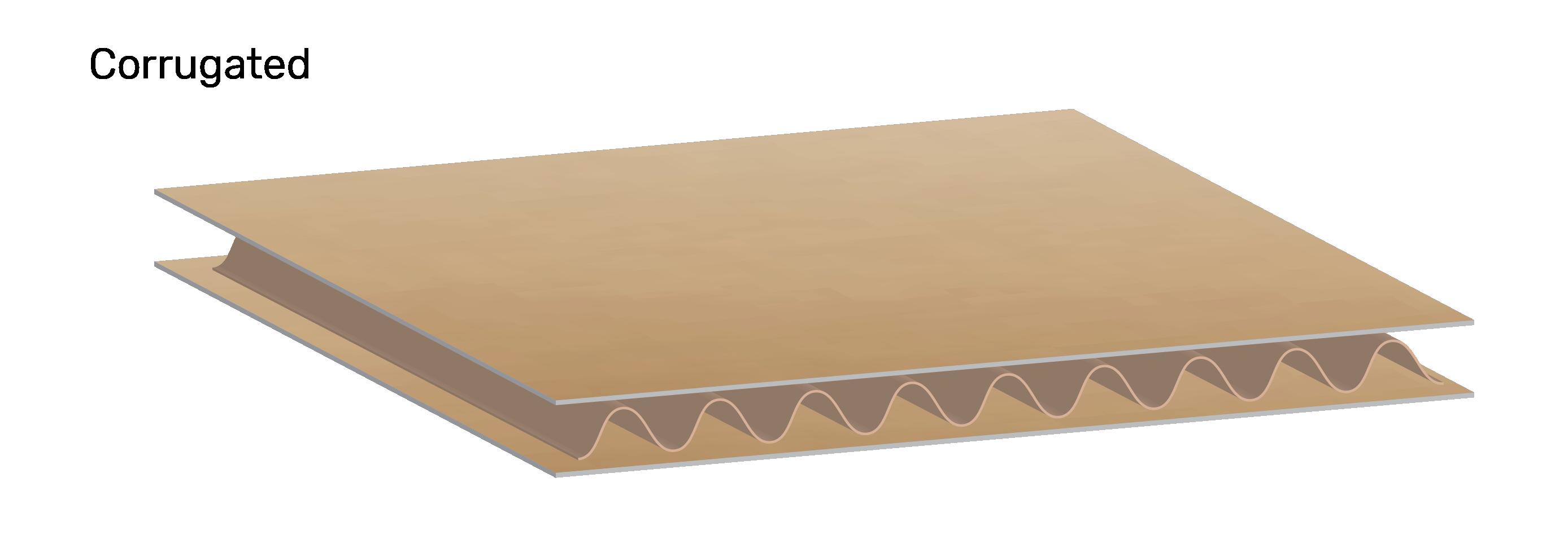 Corrugated Illustration